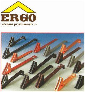 Ergo, Protisněhové háky v barvě
