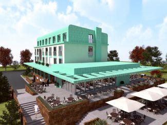 Prefa, Hotel Bartoš, Frenštát pod Radhoštěm, vizualizace