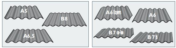 Cembrit a.s., typy a rozměry vláknocementových šablon