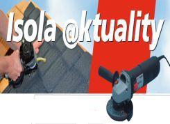 Isola, jubilejní slevová akce na ocelové krytiny, zapůjčení nářadí zdarma