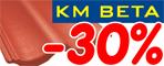 KM BETA slevy -30%