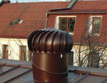 Lomanco, odvětrávací turbíny