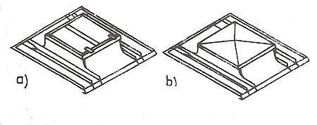 Rozměry a hmotnost střešních oken a poklopu