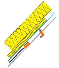 P.K. Technické textilie s.r.o., zajištění feflexe parozábrany v konstrukci