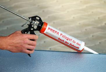 PREFA Aluminiumprodukte s.r.o., Falcovací gel