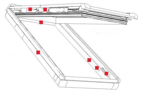 Roto - střešní okno RotoComfort i8
