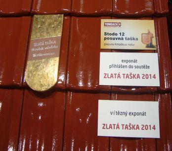 Tondach, ocenění Zlatá taška 2014