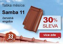 Tondach, Taška měsíce Samba 11 engoba červená, akce 30%
