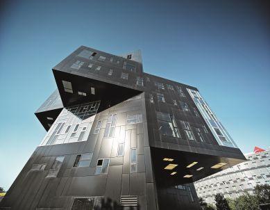 Prefa, Vídeň, kampus Vysoké školy ekonomické