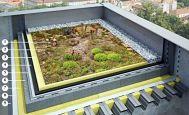 Souvrství zelené střechy, ilustrační foto