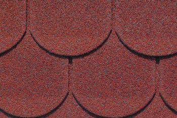 charBIT, klasický asfaltový šindel bobrovka (červený mix)