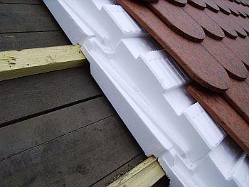 Skladba jednoplášťové šikmé střechy