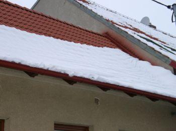 Ilustrační foto Střecha v zimě