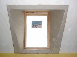 Umístění okenního křídla