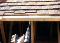 Stabilizace střešní konstrukce