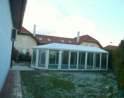 Zimní zahrada nenapojená na dům