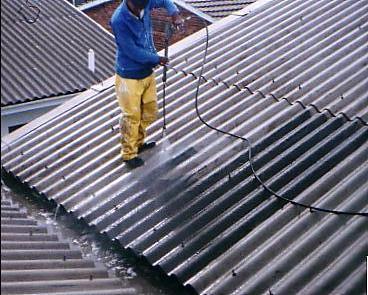 Čištení střechy