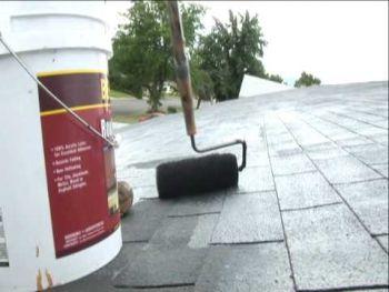 Ochranné nátěry asfaltových střešních krytin