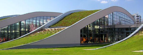 oplechování atik na atypických zelených střechách