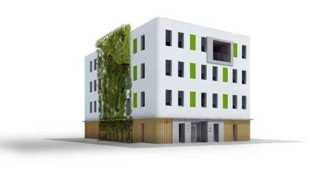 Ilustrační foto, pasivní budova, administrativní budova Ostrava - Mariánské Hory