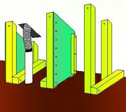 Stavba přizdívky