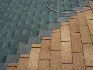 Metoda renovace střechy - šindel na šinel