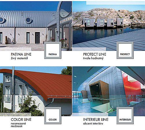 Rheinzink - nové produktové řady