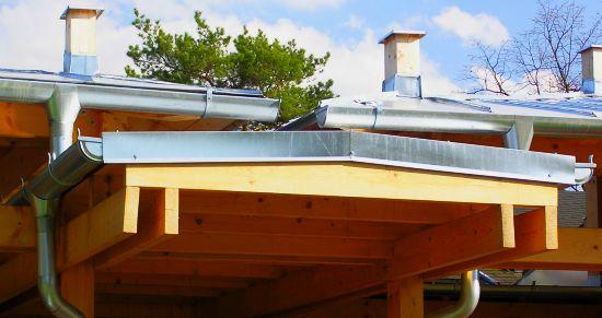 Závětrná lišta na střeše