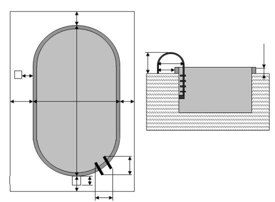 Ukázka jednoduchého postupu při náměru pro kalkulaci zastřešení (J.F.C. CZ a.s.)