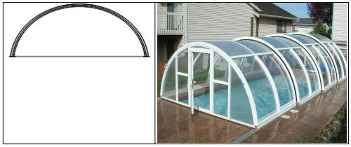 Obloukový tvar – jednorádiusový (J.F.C. CZ a.s)
