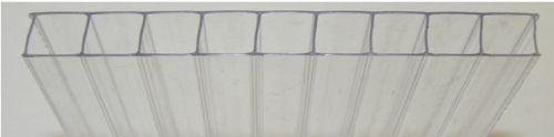 Jednokomůrková polykarbonátová deska (archiv autora)