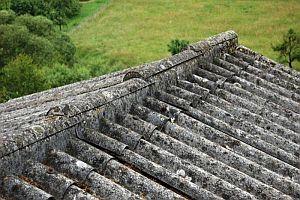 ilustrační foto, eternitová střecha