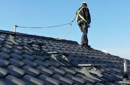 Ilustrační foto, práce na střeše, foto zdroj: Topwet s.r.o.