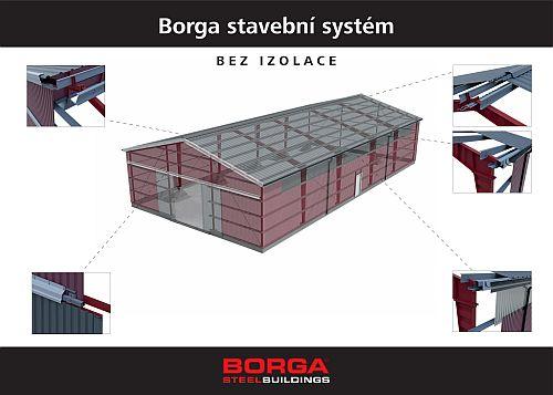 Akční nabídka na stavební systémy Borga