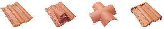 Betonová střešní taška BESK EXTRA / SUPER