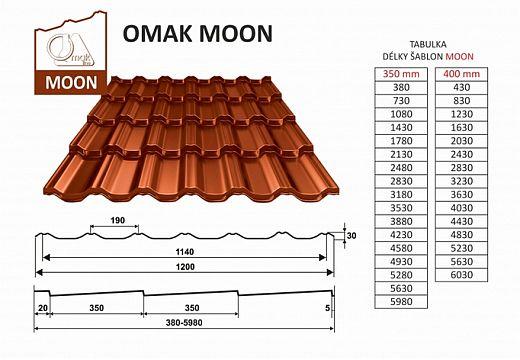 Omak Roof, novinka v sortimentu Omak Moon, zdroj: Omak Roof