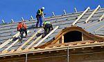 Zateplování střechy kamennou izolací Rockwool Toprock, foto zdroj Rockwool CZ