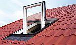 Ilustrační foto, střešní okno