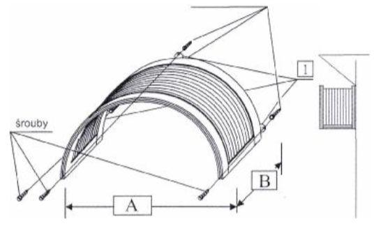 Vchodové stříšky PAMA, montáž, zdroj PAMA a.s.