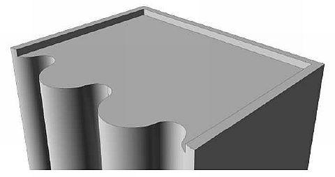 Náčrt - střechy se zvláštními tvary, zdroj: Ing. Mojmír Klas - Metodika
