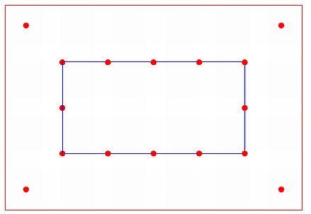 kombinovaný systém (kombinace lanového systému a jednotlivých kotvících bodů), zdroj: Metodika - Ing. Mojmír Klas