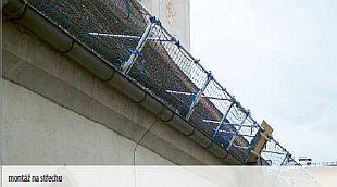 Rám s provizorní ochrannou sítí, zdroj: Rothoblaas