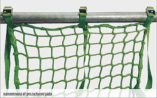 Boční ochranná síť z polypropylenu - Typu U, zdroj: Rothoblaas