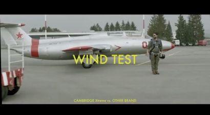 Video test IKO Cambridge Xtreme - odolnost proti větru, zdroj videa IKO