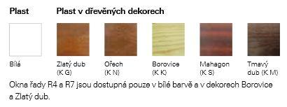 Materiálová provedení a dekor střešních oken Roto, foto zdroj: ROTO