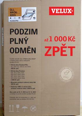 Akce Velux ČR - Podzim plný odměn pro řemeslníky, zdroj VELUX ČR