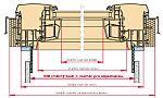Schéma nového okna na míru Designo R8 MR, zdroj: ROTO