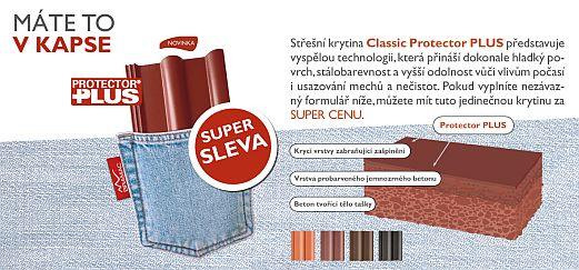 Nový povrch betonové tašky Bramac Classic protector Plus, zdroj: Bramac