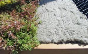 ový systém zelené střechy bez zvýšených nároků na statiku a údržbu, zdroj: Knauf Insulation