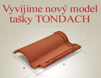 Nový model pálené tašky TONDACH